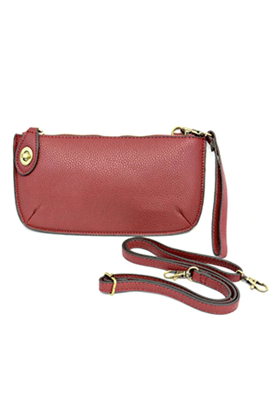 Joy Accessories Mini Crossbody Wristlet - Front Cropped Image