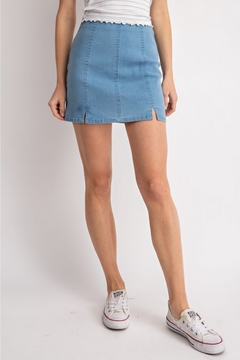 Shoptiques Product: Mini Denim Skirt