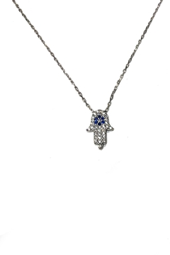 Shoptiques Product: Mini Hamsa Necklace