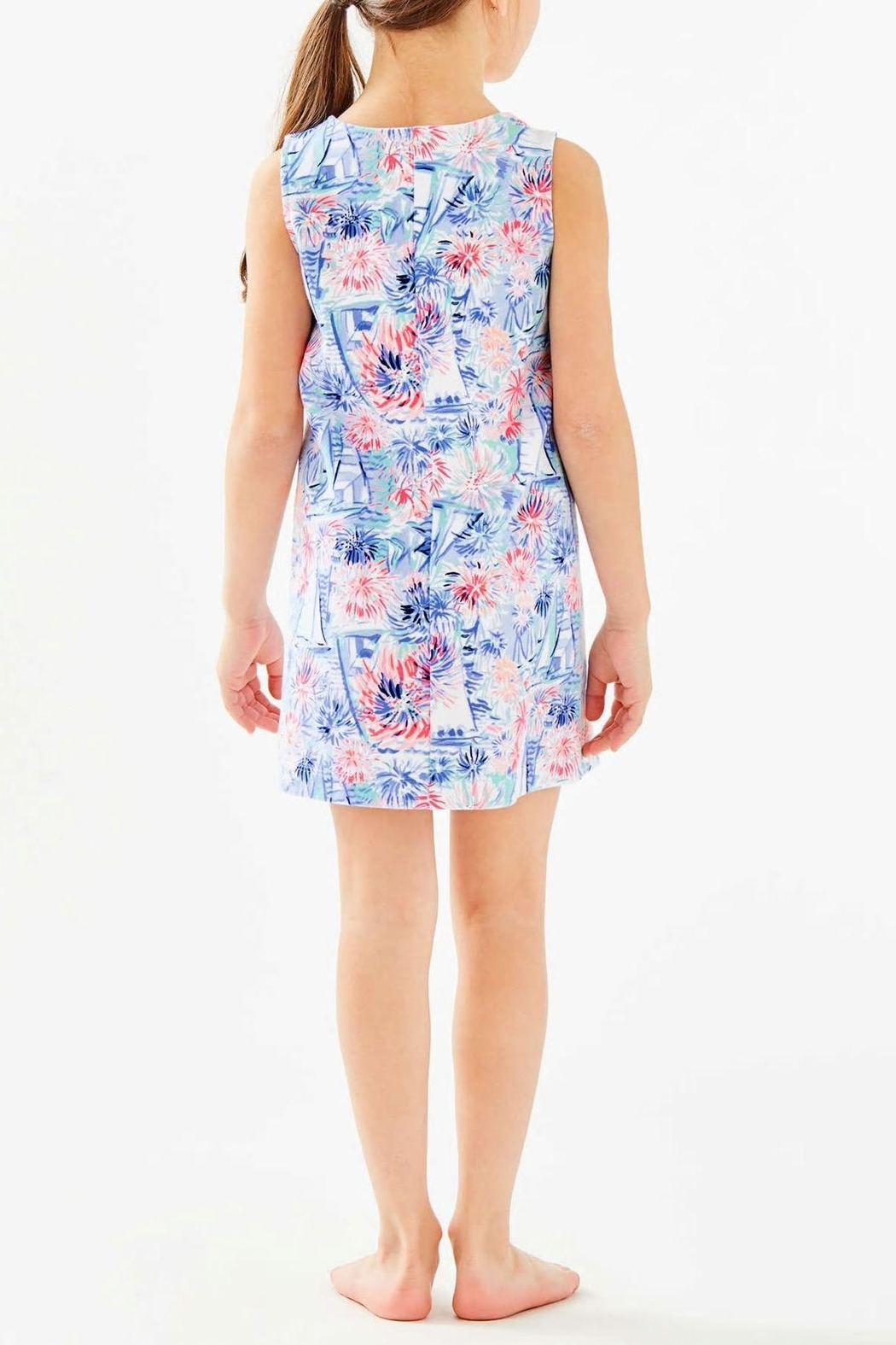 Lilly Pulitzer Mini Harper Shift-Dress - Front Full Image