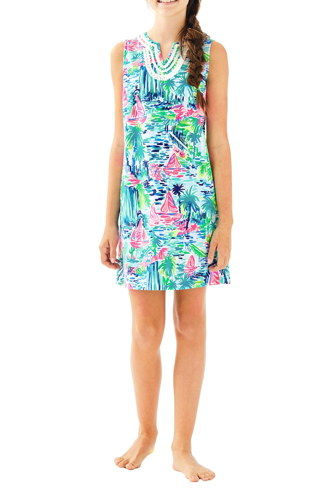 Lilly Pulitzer Mini Harper Shift - Side Cropped Image