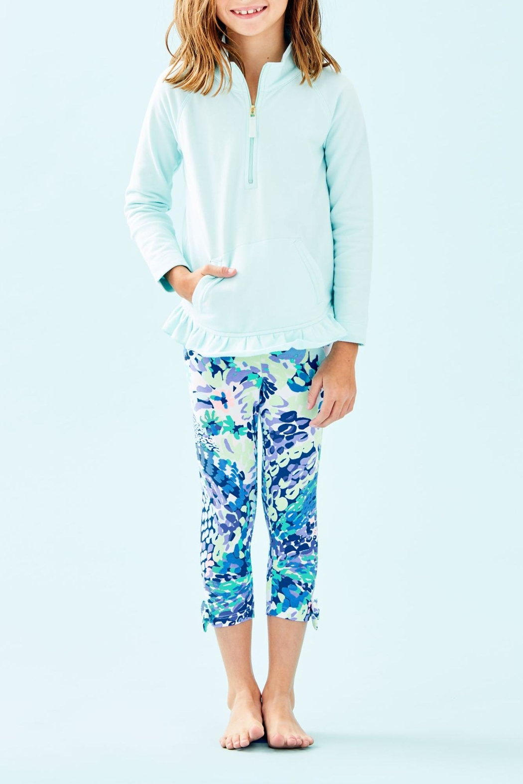 Lilly Pulitzer Mini Killian Popover - Front Cropped Image