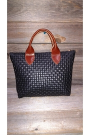 m.andonia Mini Leather Tote - Front cropped
