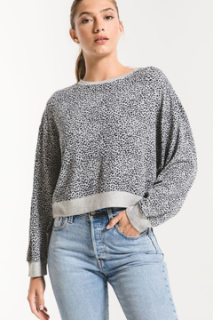 z supply Mini leopard top - Product List Image