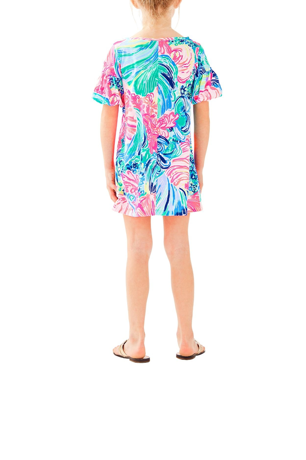 Lilly Pulitzer Mini Lindell Dress - Front Full Image