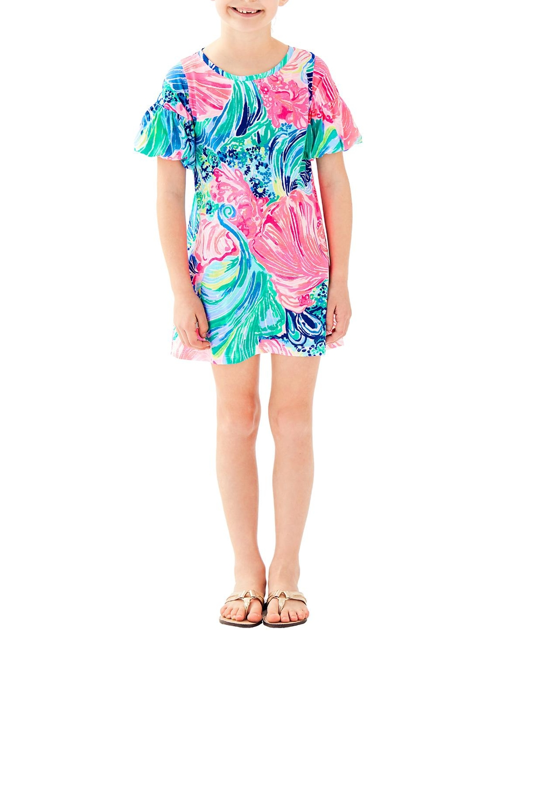 Lilly Pulitzer Mini Lindell Dress - Main Image