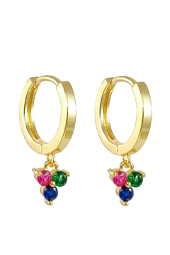 Baggis Accesorios Mini Multycolor Earring - Alternate List Image