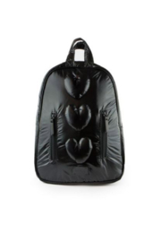 7AM Enfant Mini Nylon Hearts Backpack - Product Mini Image