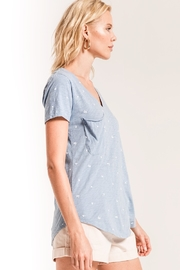 z supply Mini Palm Pocket Tee - Front full body