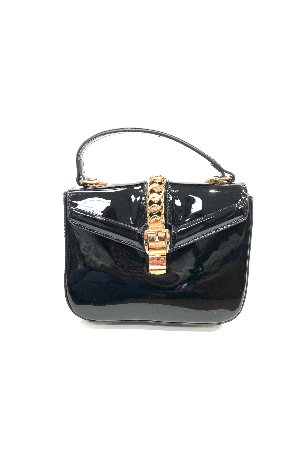 INZI Mini Patent Crossbody - Front Cropped Image