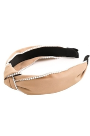 Fame Mini Pearl Headband - Front cropped
