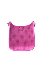 Ah!dorned Mini Perforated Messenger -  Strap not included - Front cropped