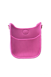 Ah!dorned Mini Perforated Messenger -  Strap not included - Front full body