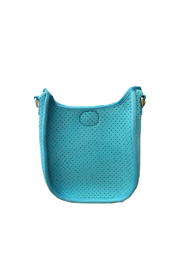 Ahdorned Mini Perforated Messenger -  Strap not included - Product Mini Image