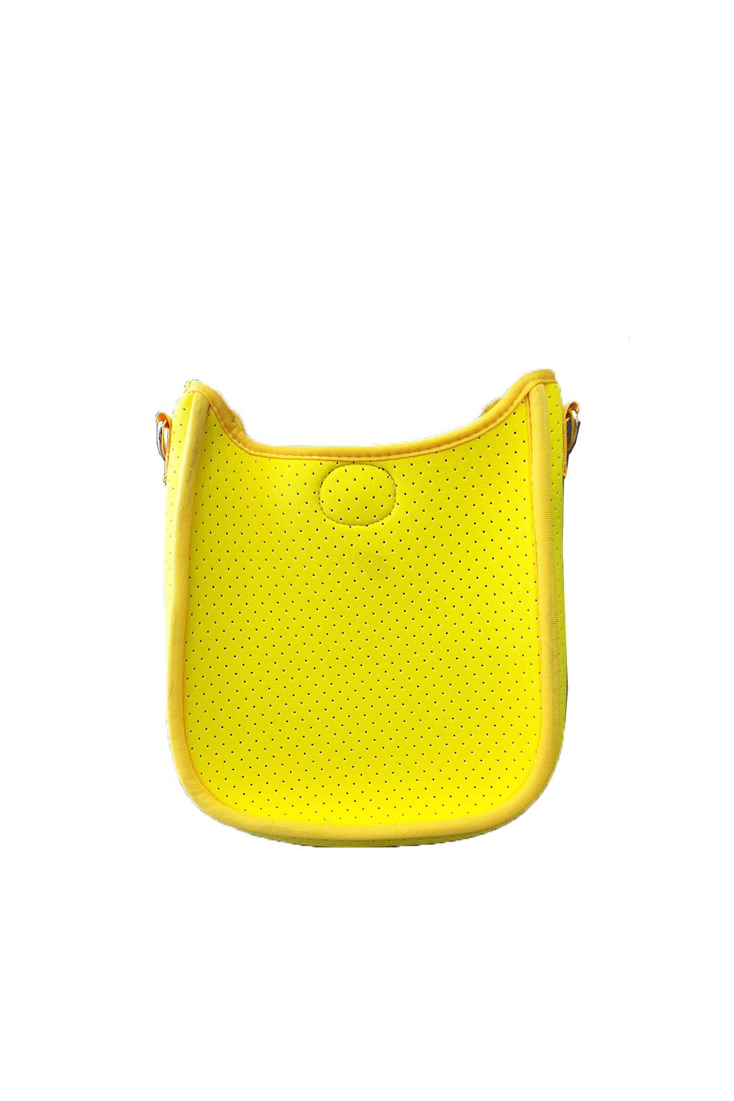 Ah!dorned Mini Perforated Messenger -  Strap not included - Front Cropped Image
