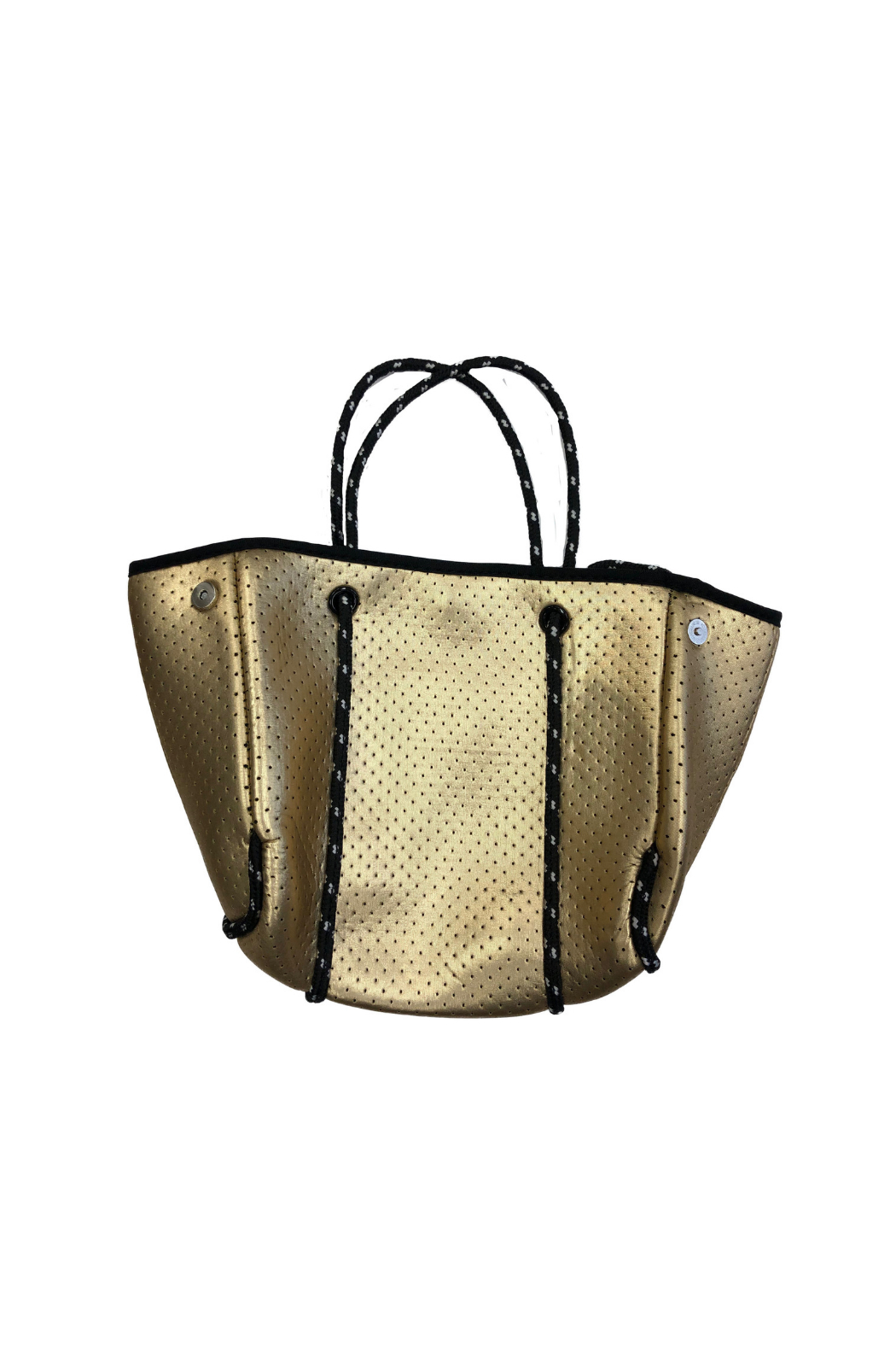 Ah!dorned Mini Perforated Neoprene Bag - Front Cropped Image