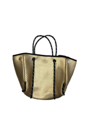 Ah!dorned Mini Perforated Neoprene Bag - Front cropped