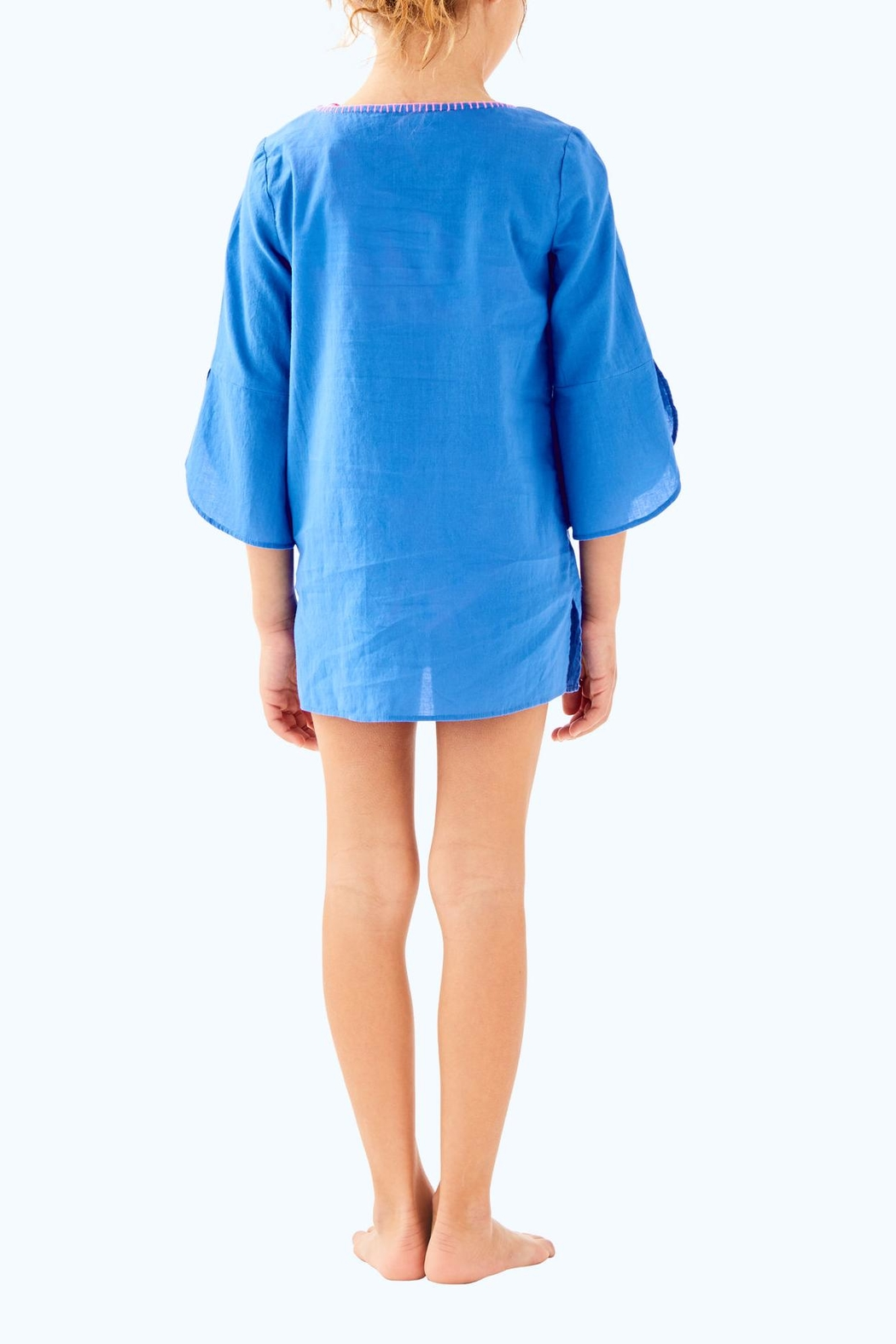 Lilly Pulitzer Mini Piet Cover-Up - Front Full Image