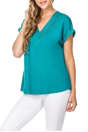 Joy Joy Mini Pleated Top - Product Mini Image