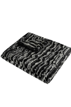 MINI POCKET Mini Pocket Collection Faux Fur Handmade in USA Infant Baby Blanket - Product List Image
