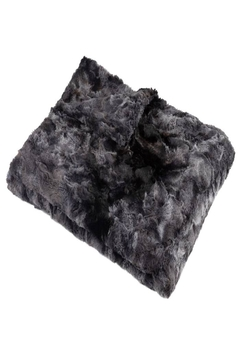 MINI POCKET Mini Pocket Collection Faux Fur Handmade in USA Infant Baby Blanket (Star Night) - Product List Image