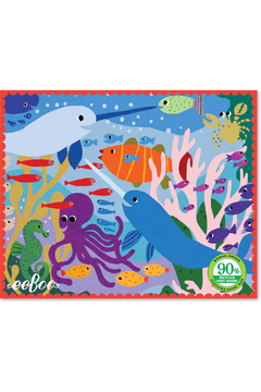 Eeboo Mini Puzzle Narwhal and Friends - Alternate List Image
