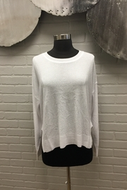 Planet Mini Rice Stitch Sweater - Front cropped
