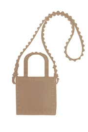 Carmen Sol Mini Shoulder Bag Nude - Product Mini Image