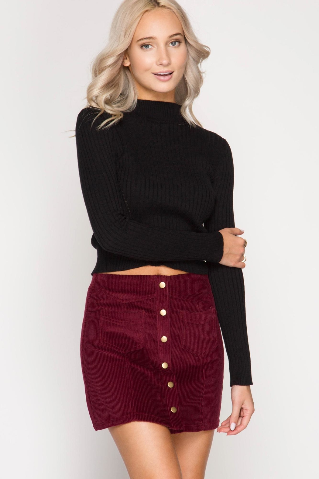 Unknown Factory Mini Skirt - Main Image