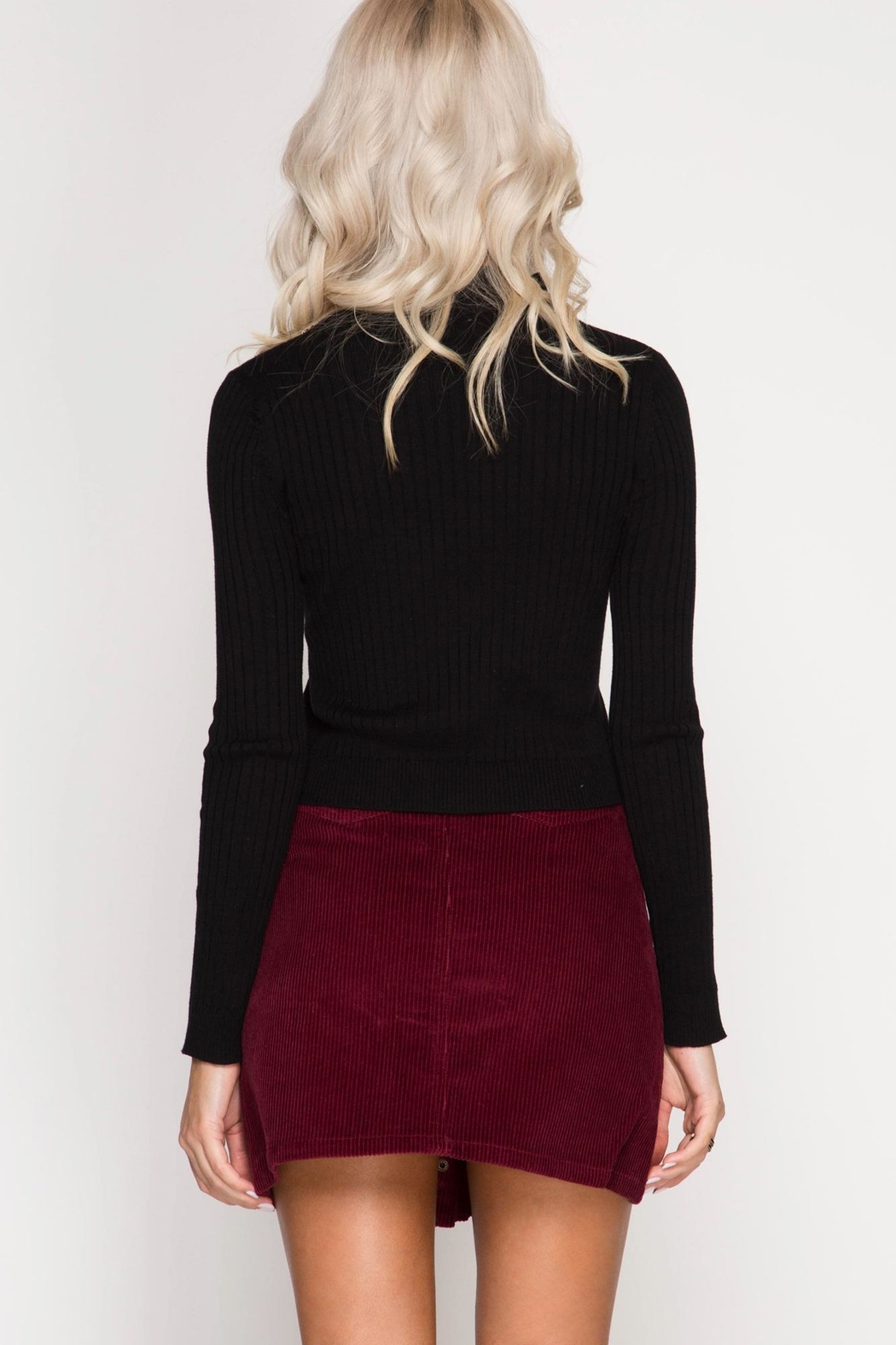 Unknown Factory Mini Skirt - Front Full Image