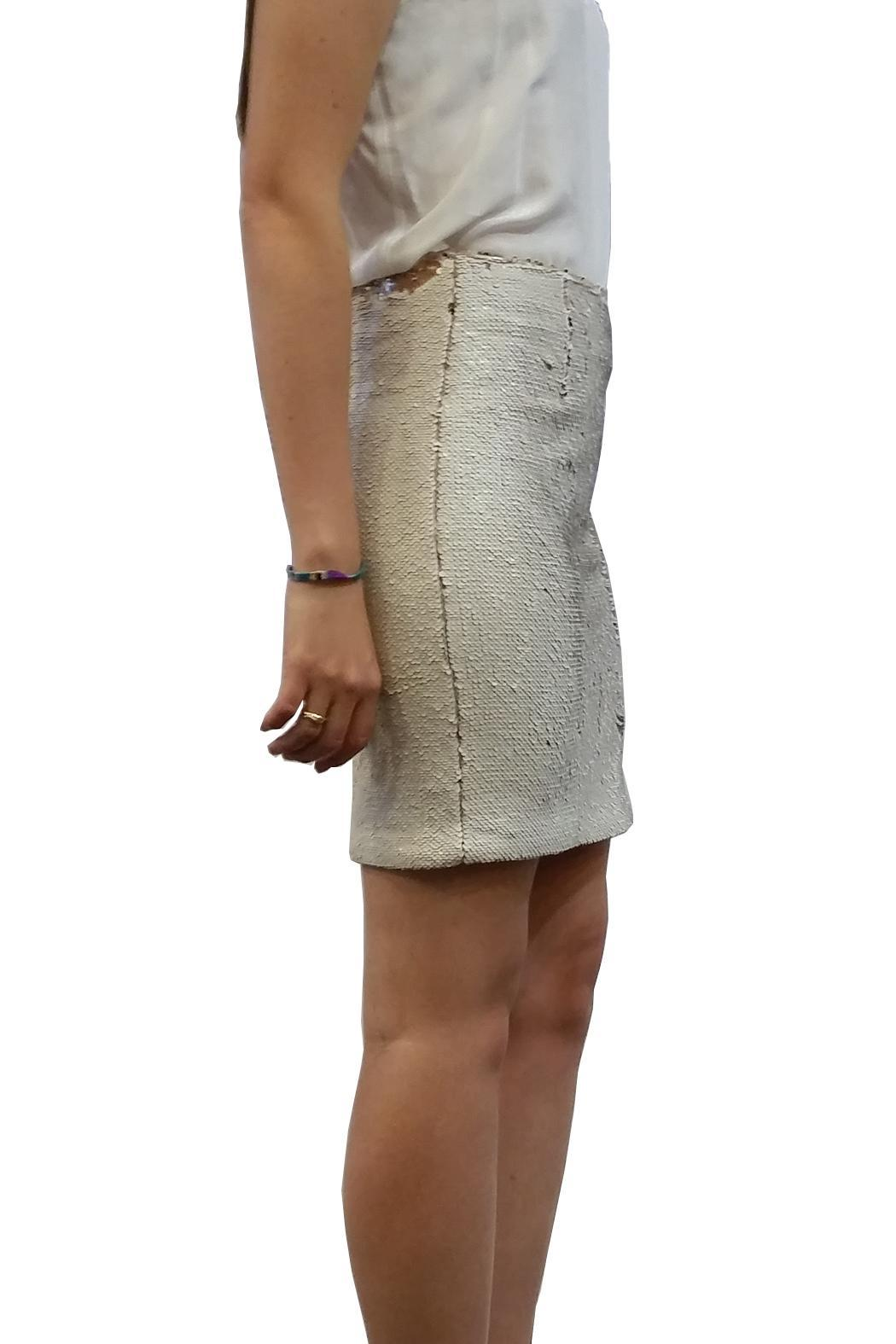 hotel particulier Mini Skirt Sequins - Side Cropped Image
