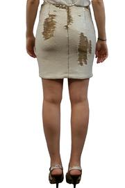 hotel particulier Mini Skirt Sequins - Front full body