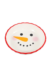 DEI MINI SNOWMAN PIE PLATE - Product Mini Image