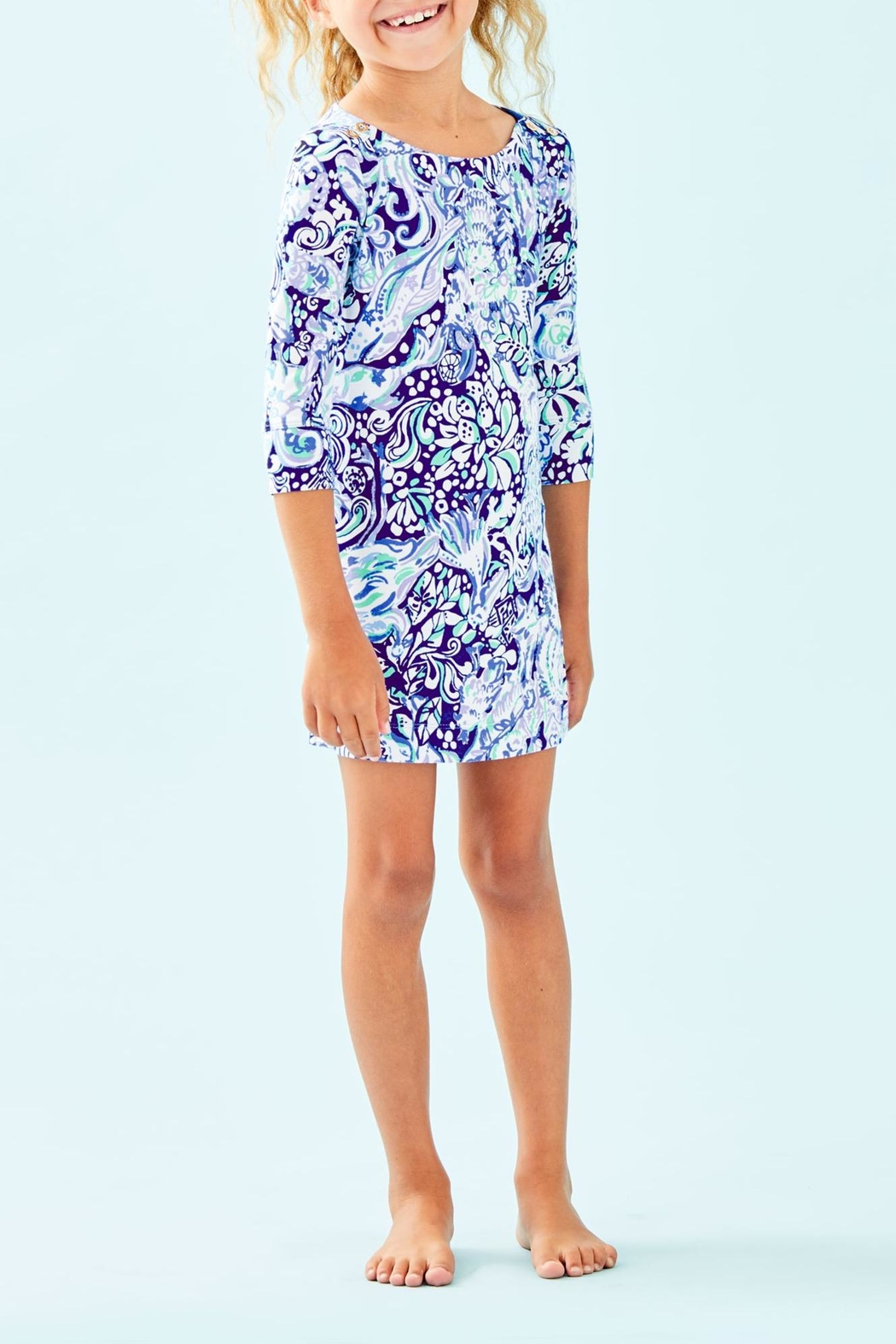 Lilly Pulitzer Mini Sophie Dress - Side Cropped Image