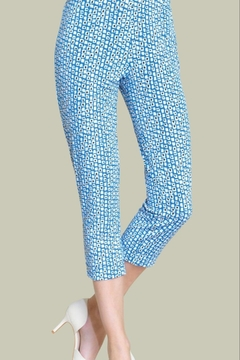Clara Sunwoo Mini-Square Knit Capri - Product List Image