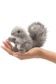 Folkmanis Mini Squirrel Finger Puppet - Front cropped