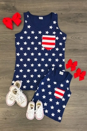 Lady's World Mini Stars & Stripes - Side cropped