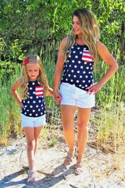 Lady's World Mini Stars & Stripes - Front cropped