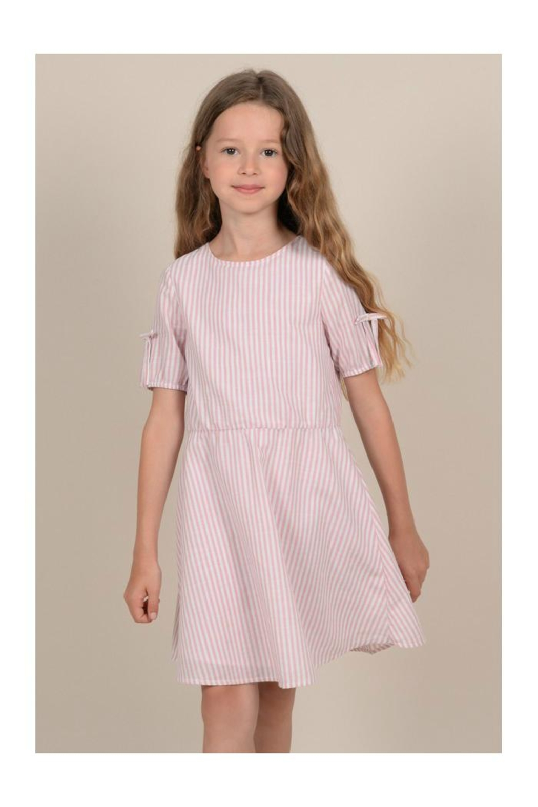 Mini Molly Mini Striped Dress - Front Full Image