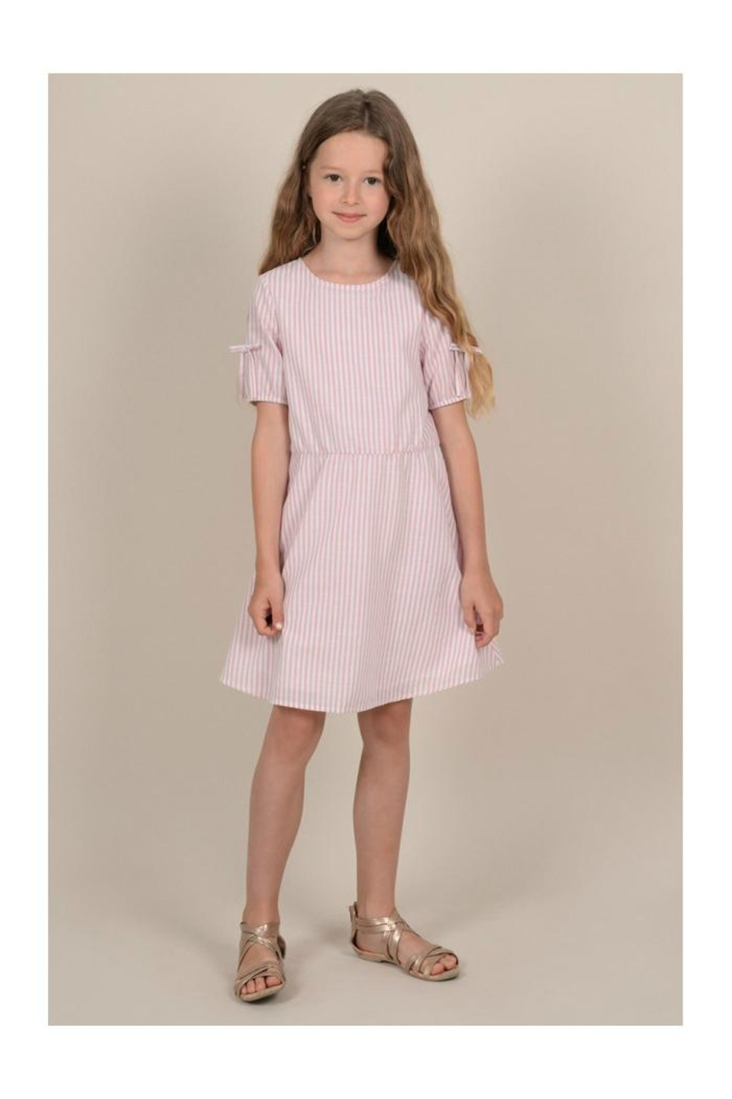 Mini Molly Mini Striped Dress - Main Image