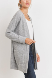 Lyn -Maree's Mini Thermal Cardi - Front cropped
