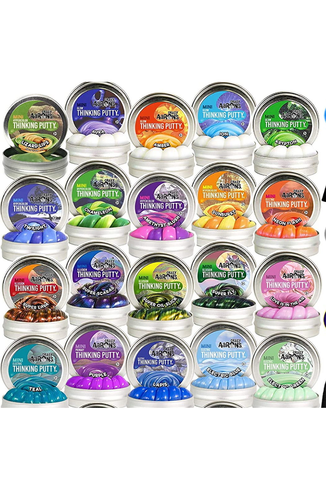 Crazy Aarons Mini Thinking Putty Assorted - Main Image