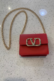 CHLOE K. NEW YORK  Mini V Purse - Product Mini Image