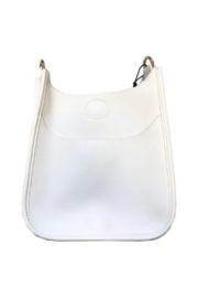 Ah!dorned Mini Vegan Leather Messenger (STRAP NOT INCLUDED) - Front cropped