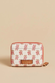 Spartina 449 Mini Wallet-Pink House French Floral - Front full body