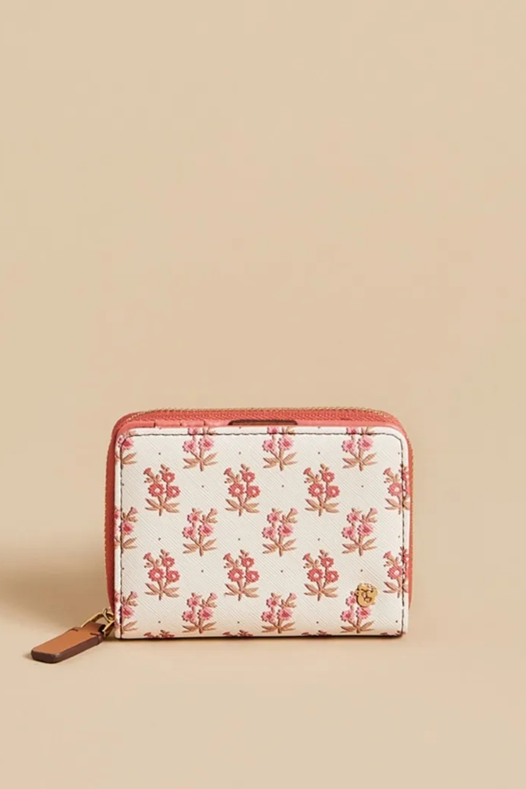 Spartina 449 Mini Wallet-Pink House French Floral - Main Image