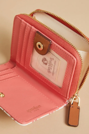 Spartina 449 Mini Wallet-Pink House French Floral - Side cropped