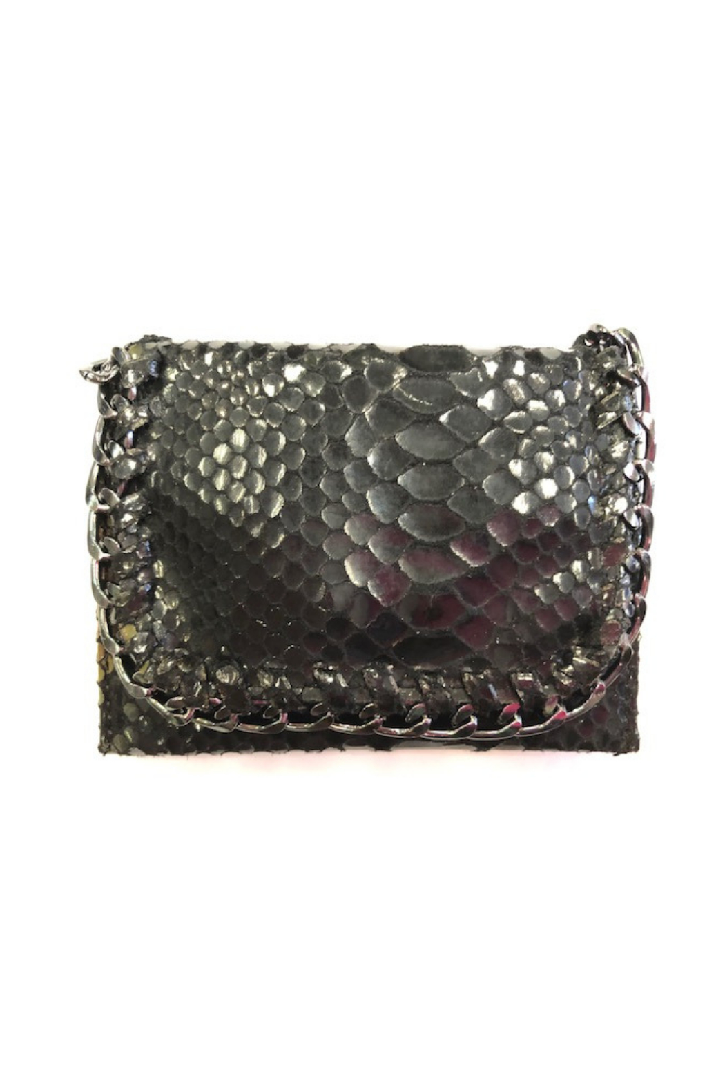Private Label mini wallet with metal detail - Main Image