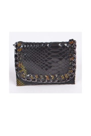 Private Label mini wallet with metal detail - Product Mini Image
