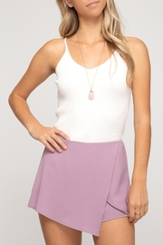 She + Sky Mini Wrap Skort - Product Mini Image